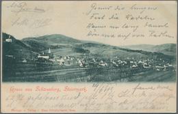 Ansichtskarten: KARTON, Mit Ungefähr 1200 Historischen Ansichtskarten Ab Ca. 1900 Bis In Die 1970er - Ansichtskarten