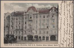 Ansichtskarten: 1900-1950, Partie Mit Rund 130 Karten Aus Aller Welt, Zumeist Foto-AK Mit Straßenzüg - Ansichtskarten