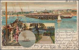 Ansichtskarten: TOPOGRAFIE Und THEMATIK, Kleine Schachtel Mit über 100 Historischen Ansichtskarten A - Ansichtskarten