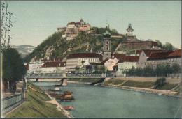 Ansichtskarten: ALTES POSTKARTENALBUM, Gefüllt Mit Gut 400 Historischen Ansichtskarten, Alle Vor 194 - Ansichtskarten