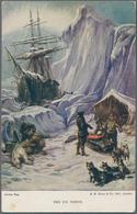 Ansichtskarten: THEMATIK, Kleine Schachtel Mit Gut 200 Historischen Ansichtskarten Ab Ca. 1910 Bis I - Ansichtskarten