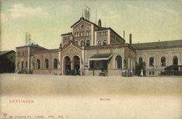 GÖTTINGEN, Bahnhof, Railway Station (1910s) AK - Goettingen