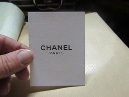 Carte Chanel - Cartes Parfumées