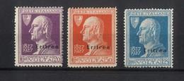 """1616 - Eritrea """"Volta"""" Francobolli D'Italia In Colori Cambiati E Soprastampati """"Eritrea"""" - Anno 1927 - Eritrea"""