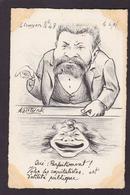 CPA JAURES Jean Satirique Caricature Non Circulé Molynk Litho - Satiriques