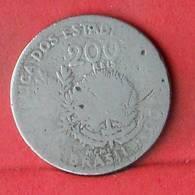 BRAZIL 200 REIS 1901 -    KM# 504 - (Nº33489) - Brésil