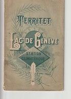 TERRITET - Lac De Genève - Station Climatérique (Montreux) - Histoire