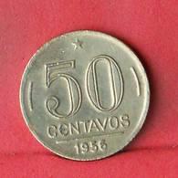 BRAZIL 50 CENTAVOS 1956 -    KM# 563 - (Nº33493) - Brésil