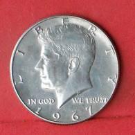 USA HALF DOLLAR 1967 - *SILVER*   KM# 202a - (Nº33499) - EDICIONES FEDERALES