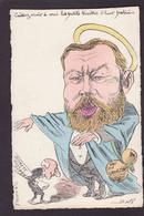 CPA JAURES Jean Satirique Caricature Non Circulé Bobb  Affaire Dreyfus - Satiriques