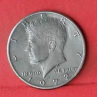 USA HALF DOLLAR 1972 D -    KM# 202b - (Nº33500) - EDICIONES FEDERALES