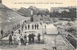 Morlanwelz NA47: Les Travaux D'Agrandissement Brasserie Le Bon Grain - Morlanwelz