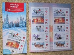1 Boekje/carnet Magical Winter** - Markenheftchen 1953-....
