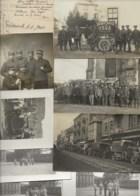 250120 - Lot CARTE PHOTO GUERRE 1914 18 BELFORT RUSSIE Ambulance Alpine Caucase SSA Santé Armée Croix Rouge Motricine - Guerre 1914-18