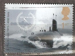 Great Britain: Single Used Stamp, 100 Years Of Submarines For Royal Navy, 2001, Mi#1932 - 1952-.... (Elizabeth II)
