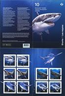 CANADA 2018 Sharks Marine Life Animals Fauna Booklet S/A MNH - Sonstige