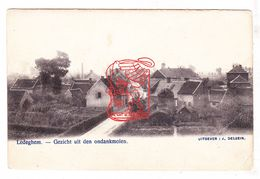 PK Ledegem - Zicht Vanop Ondankmolen = Molen Beyls +/- 1900 / Verstuurd Nr Roubaix FR Nord / Ed. Dessein - Ledegem
