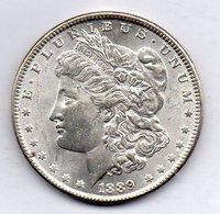 U.S.A. - 1 Dollar, Silver, Year 1889 - EDICIONES FEDERALES