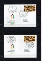 BRD, 2008, 2 Briefe (echt Gelaufen) Mit Michel 2651, Sonderstempel, Schach-Olympiade Dresden - [7] République Fédérale