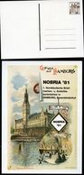 WINE CELLAR In HAMBURG TOWN HALL 1981 Germany STO Postal Card PP101 D2/003-I - Wein & Alkohol