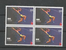 OCB 3305 ** Postfris Zonder Scharnier In Blok Van 4 - Belgien