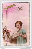 MEISJE MET BRIEF/FILLE AVEC LETTRE - J.G. PARIS 533 - 1940 - Kinder