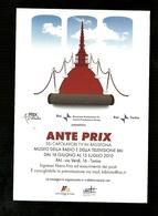 Cartolina Pubblicitaria - Museo Della Radio E Televisione - Torino 2010 - Musei