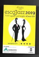 Cartolina Pubblicitaria - Jazz 2019 - Musei