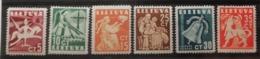 Lituanie 1940 / Yvert N°376-381 / * - Lithuania