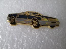 PIN'S   MERCEDES  500 SL  CABRIOLET   Arthus Bertrand - Mercedes