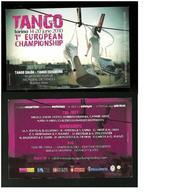 Cartolina Pubblicitaria - Danza ... Tango - Torino 2010 - Danza