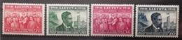Lituanie 1939 / Yvert N°366-369 / * - Lituanie