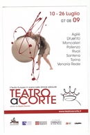 Cartolina Publicitaria - Teatro A Corte - Torino 2009 - Danza