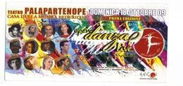 Cartolina Publicitaria - Teatro Palapartenope Open Danza - Danza