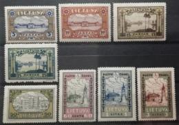 Lituanie 1932 / Yvert N°303-310 / * - Lithuania