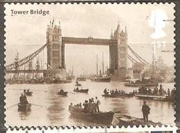 Great Britain: Single Used Stamp, Themsa Bridges In London, 2002, Mi#2048 - 1952-.... (Elizabeth II)