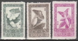 Nord Korea       .     Yvert    .     624/626       .       **       .     Postfrisch   .   /   .    MNH - Korea (Nord-)