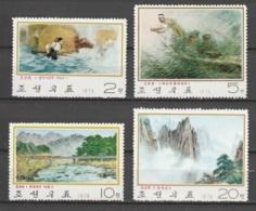 Nord Korea       .     Yvert    .    1192/1195       .       **       .     Postfrisch   .   /   .    MNH - Korea (Nord-)