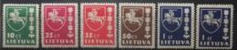 Lituanie 1937-39 / Yvert N°358-361A / * - Lithuania