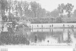 TROYES - La Seine Au Déversoir De Chantepierre (Lavau) - Très Bon état - Troyes