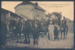 02 CORBENY Cavalcade Du 21 Avril 1924 Le Char De L'Agriculture - Unclassified