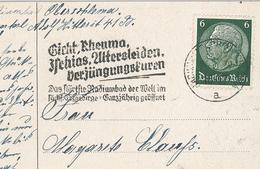 Gicht Rheuma Ischias Altersleiden Verjüngung - Radium Bad Erzgebirge - Malattie