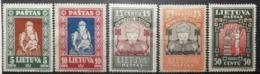 Lituanie 1933 / Yvert N°327-334 / * - Lituanie