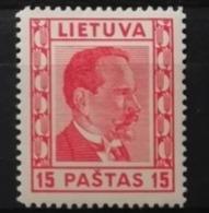 Lituanie 1936 / Yvert N°355 / * - Lithuania
