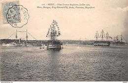 BREST - Fêtes Franco Anglaises, Juillet 1905 - Très Bon état - Brest