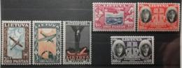 Lituanie 1934 / Yvert Poste Aérienne N°84-89 / * - Lituanie