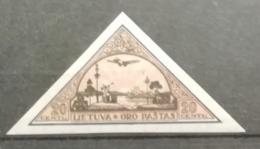 Lituanie 1932 / Yvert Poste Aérienne N°55 Non Dentelé / * - Lithuania
