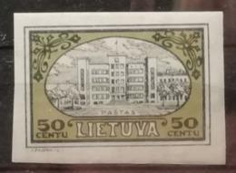 Lituanie 1932 / Yvert N°307 Non Dentelé / * - Lithuania