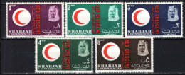 SHARJAH - 1963 - CENTENARIO DELLA CROCE ROSSA INTERNAZIONALE - MNH - Sharjah