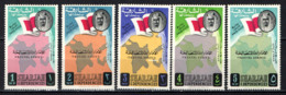 SHARJAH - 1963 - SCEICCO, BANDIERA E MAPPA - SENZA GOMMA - Sharjah